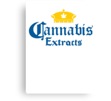 Cannabis Extracts Canvas Print