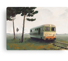 Lokomotywa Canvas Print