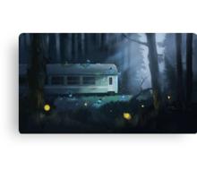 Night Train Canvas Print