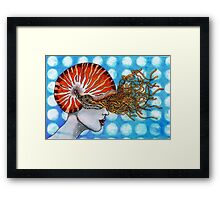 Voyage of a perfect mind.II. Framed Print