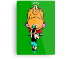 Punch Out King Hippo Metal Print