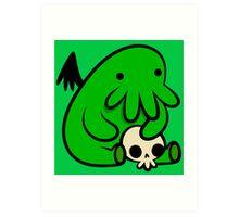 Baby Cthulhu Art Print