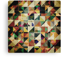 Earth Tones Abstract Canvas Print