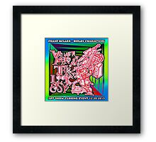 We Like To Make This Look Easy!  - Random Robots Metal For X Framed Print