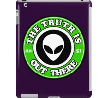 THE TRUTH IS OUT THERE - ALIEN HEAD iPad Case/Skin