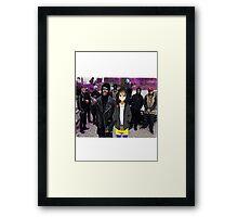 A$AP YUI Framed Print