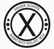 The Xavier School for Gifted Children - Black by GradientPowell