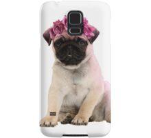 Hipster Pug Puppy Samsung Galaxy Case/Skin