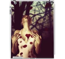 Girl with Bloody Heart iPad Case/Skin