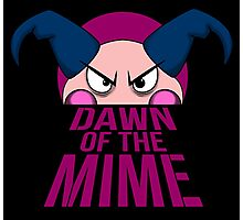 Dawn of The Mime Photographic Print
