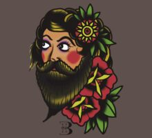 traditional bearded lady by bhoare-smith