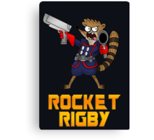Rocket Rigby  Canvas Print