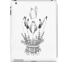 crystal hands iPad Case/Skin