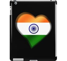 Indian Flag - India - Heart iPad Case/Skin
