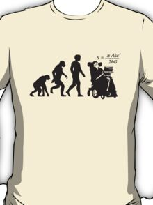 Stephen Hawkins Science Evolution Big Bang Theory  T-Shirt