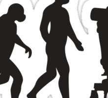 Stephen Hawkins Science Evolution Big Bang Theory  Sticker