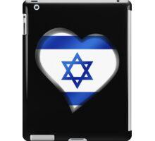 Israeli Flag - Israel - Heart iPad Case/Skin