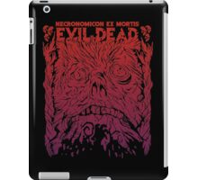 Necronomicon Ex Mortis (Bloody Red) iPad Case/Skin