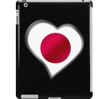 Japanese Flag - Japan - Heart iPad Case/Skin