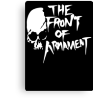 The Front of Armament - Text Canvas Print