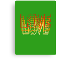 Love Vibrations Canvas Print