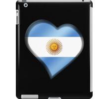 Argentine Flag - Argentina - Heart iPad Case/Skin
