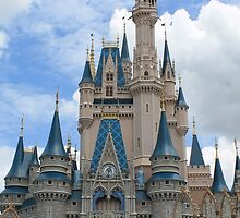 Cinderella's Castle by cuzimmagical