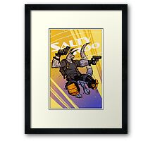 """Salty Roo 2099"" Framed Print"