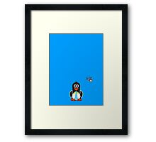 Domestic Penguin - Gents Framed Print