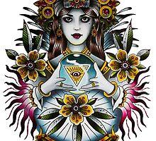 Gypsy crystal ball by raleighstewart