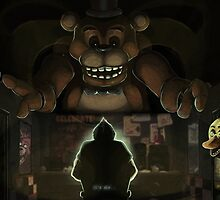 Five Night's at Freddy's by qlaxx
