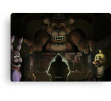 Five Night's at Freddy's Canvas Print