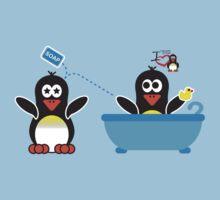 Domestic Penguin - Rub-a-dub-dub in the Tub Kids Clothes