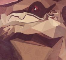 Low Polygon Wrex Sticker