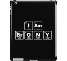 I Am Brony - Periodic Table iPad Case/Skin