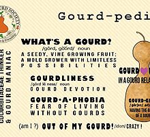IDGS Gourd-pedia Note Cards-Design 2 by Subwaysign