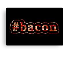 Bacon - Hashtag - Photograph Canvas Print