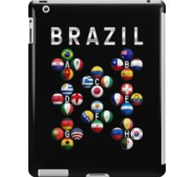 Brazil - World Football or Soccer - 2014 Groups - Brasil iPad Case/Skin