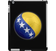 Bosnia and Herzegovina - Bosnian Flag - Football or Soccer 2 iPad Case/Skin