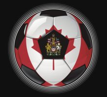Canada - Canadian Flag - Football or Soccer by graphix
