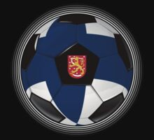 Finland - Finnish Flag - Football or Soccer by graphix