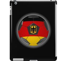 Germany - German Flag - Football or Soccer iPad Case/Skin