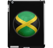 Jamaica - Jamaican Flag - Football or Soccer 2 iPad Case/Skin