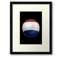 Netherlands - Dutch Flag - Football or Soccer 2 Framed Print
