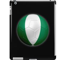 Nigeria - Nigerian Flag - Football or Soccer 2 iPad Case/Skin