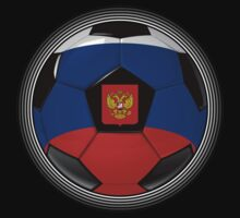 Russia - Russian Flag - Football or Soccer by graphix