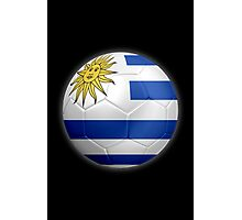 Uruguay - Uruguayan Flag - Football or Soccer 2 Photographic Print