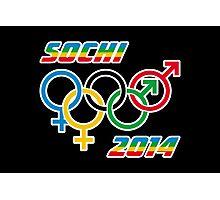 Sochi Equality Photographic Print