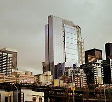 seattle cityscape by Savannah Regier