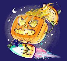 Great Pumpkin Rider by nate-bear
